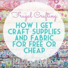 My mega list of fabric wholesalers is proving very popular this ... & Want to take part in some frugal crafting? I share my secrets of how I get  crafting supplies and fabric inexpensively or for FREE! Adamdwight.com