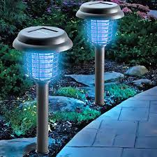 exterior lighting solar powered. amazon.com : outxpro led solar powered garden path light with electronic mosquito zapper function - 2 in 1 and lantern exterior lighting a