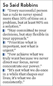 Tony robbins purpose statement