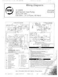 ph10pa payne wiring diagram for ph10 series 10 seer split system manual location