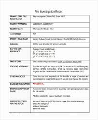 Incident Report Format Letter Lovely Employee Incident Report Sample
