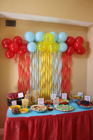 Creatives Ideas To Create Birthday Table Decorations Also Simple Decoration  Trends Here Was Our Food Decor