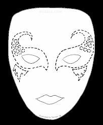 try out these face painting stencils