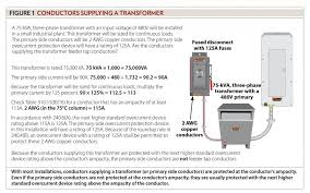 5kv Cable Ampacity Chart Sizing Conductors Part Xxvi Electrical Contractor Magazine