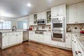 White Kitchen Cabinets Appliances Affordable Maple With Have