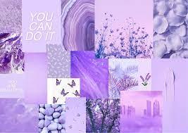 Lavender Themed Chromebook Collage ...
