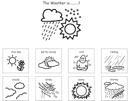 Small Picture Weather Coloring Pages For Toddlers Coloring Pages