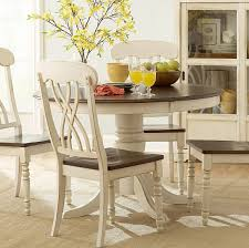 4 Piece Dining Room Sets Homelegance Ohana 4 Piece Round Dining Room Set In White Cherry