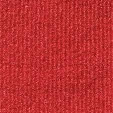 Bright Red IndoorOutdoor Unbound Carpet Area Rug  316u2033 Thick With Latex Marine Backing