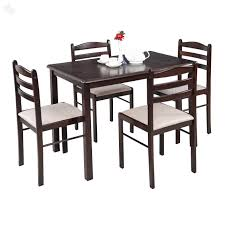 Kitchen Furniture Online India Buy Royaloak Hunter Dining Set With Four Chairs Online From