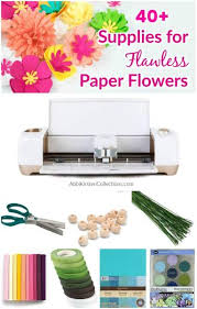 Paper Flower Suppliers Diy Easy Paper Flowers Guide To Supplies And Crafting