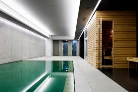 indoor swimming pool lighting. modern home with indoor pool and sauna room great cement wood design swimming lighting e