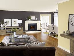 Living Room Tv Area Design Brown Wood Flooring Color Palette Living Area Wall Tv Bench White