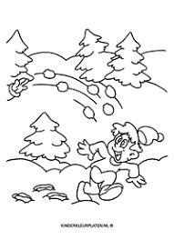 Onderwerp Winter Jaargetijden Gratis Kleurplaten Downloaden En Printen