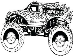 Monster Truck Coloring Pages Monster Truck Coloring Pages For Boys