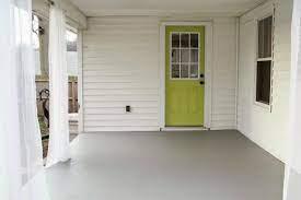 how to repaint a concrete porch