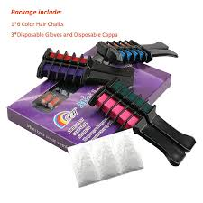 Coolyouth Hair Chalk Comb Set Of