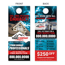 Door Hangers for Roofers - High Quality Prints - FREE Shipping ...