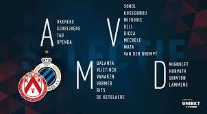 KV Kortrijk – Club Brugge: de Selectie