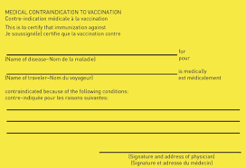 Yellow Fever Vaccine Certification