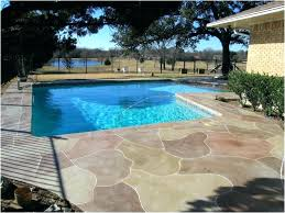 Concrete Pool Patio Ideas Pool Patio Designs Backyard Cost Beautiful