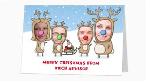 online christmas card how to make personalised christmas cards online tech advisor