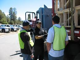 information was made available regarding penger carercial vehicles interacting on the highways arizona state seal