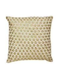 embroidered dot pillow