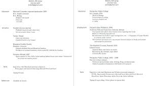Examples Of A Student Resume Resume Examples For Students High ...