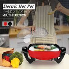 <b>220V 1300W</b> 6L Household <b>Electric</b> Non stick Heat <b>Multi functional</b> ...