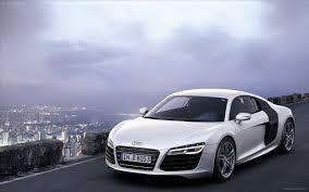 white audi r8 wallpaper. Perfect Wallpaper And White Audi R8 Wallpaper