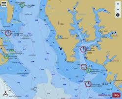 Potomac River St Marys River Md Inset 2 Marine Chart