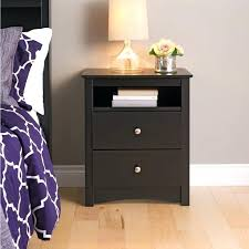 Tall Bedroom End Tables 2 Drawer Tall Nightstand With Open Shelf From Tall Bedroom  Table Lamps