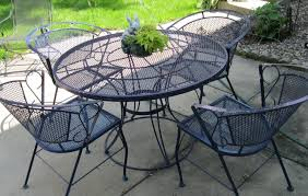 white wrought iron outdoor dining