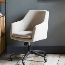 west elm office chair. Helvetica Upholstered Office Chair West Elm H