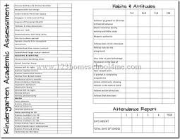 Home School Report Cards  Free Printable