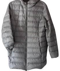 Eddie Bauer Light Down Jacket Eddie Bauer Grey Ultra Light Down Parka Coat Size 16 Xl Plus 0x 52 Off Retail