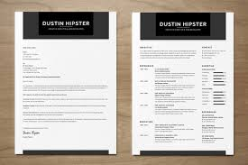 This is a specially disguised handcraft resume cv with cover letter  template in hipster style. You will test a vintage style and fully designed  in black ...