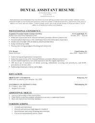 Dental Assistant Resume Samples Dental Assistant Resume Examples Best Pediatric Dental Assistant Resume Examples