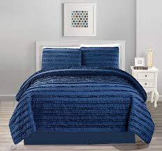 bedding king size bed forter navy and white bed sheets navy and