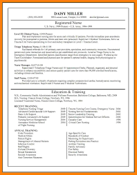 6+ Free Nursing Cv Template | St Columbaretreat House