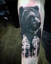 125 Unique Bear Tattoo Designs A Sign Of Diversity Wild Tattoo Art