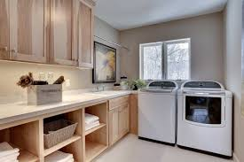 Laundry Room In Kitchen Custom Laundry Room Cabinets Mn Custom Mudroom Built Ins