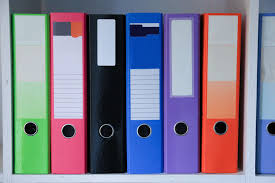 Three Ring Binder Size Chart Best Binders For 2019