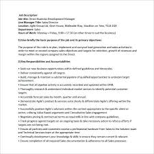 Job Description Template Word Stunning Barista Resume Template S Responsibilities Business Development