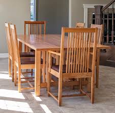 mission style dining room set usa made mission style oak mission style dining room chair plans