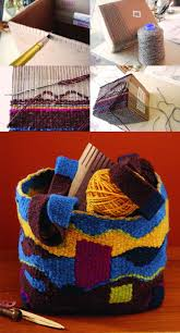 learn how to make a diy cardboard loom in this free diy tapestry weaving guide