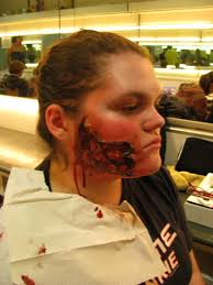 makeup test gore by dragonladycels