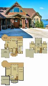 lake house floor plans with walkout basement best of small lakefront house plans fresh lake house