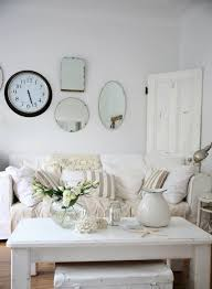 Coastal Decorating Accessories White Beach Coastal Room Decoration Ideas With Mirrors On The Wall 19